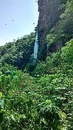 A cachoeira Boca da onça
