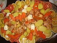 Pirarucu - prato elaborado