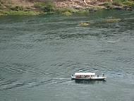 O barco sai de Piranhas e vai até Anjicos