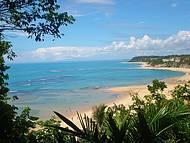 Considerada uma das mais lindas do Brasil. Vista logo da chegada...