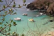 Baía do Sancho está entre as praias mais belas do Brasil