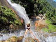 Rapel na Cachoeira Véu das Noivas
