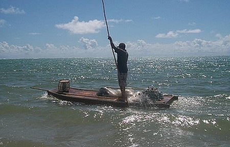 Pousada Igarakue - Pescadores da região