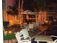 Vista à noite Hotel Villa Mayor