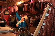 Vinhos e embutidos também fazem parte da festa