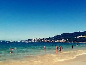 Praias lindas e limpas