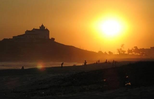 Vista do Pôr do Sol na VIla