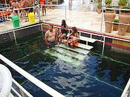 Piscina p/ crian�as do Canion do Xing�