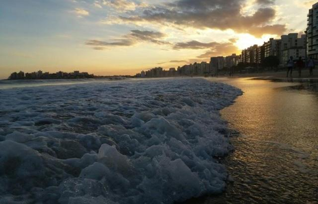 Por do Sol na Praia do Morro