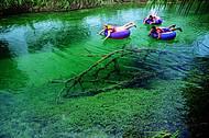 A diversão é garantida na descida do rio
