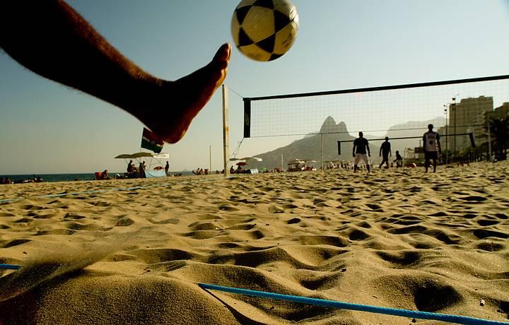 """""""Do Leme ao Pontal"""", areias estão sempre movimentadas"""