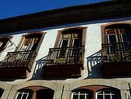 Beleza da sacadas antigas de Ouro Preto