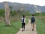 Acessos mapeados facilitam o trekking