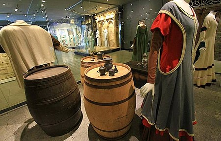 Museu da Moda - Vestimentas simples também fazem parte da mostra