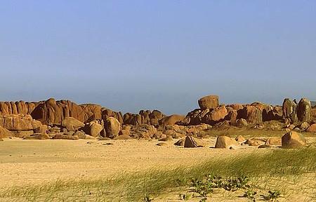 Prainha - Descida da Pedra do Urubu.