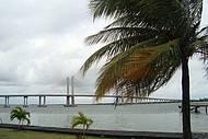 Ponte barra dos Coqueiros ao fundo