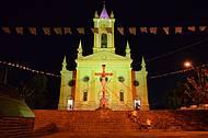 Igreja da Matriz poucos dias antes do Natal/2014