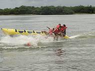 Vale a pena o passeio de banana boat
