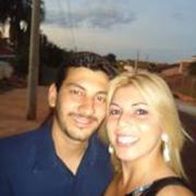 Marcia Santos e André Gazeta